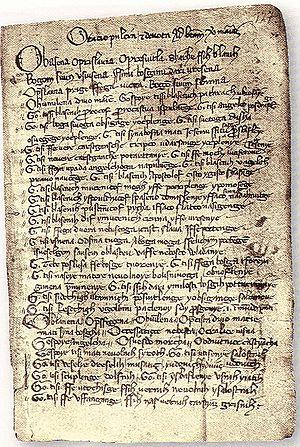 Pray of Šibenik (Middle of 14th century)