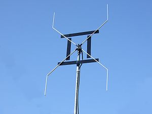 English: An altered AWX antenna which had been...