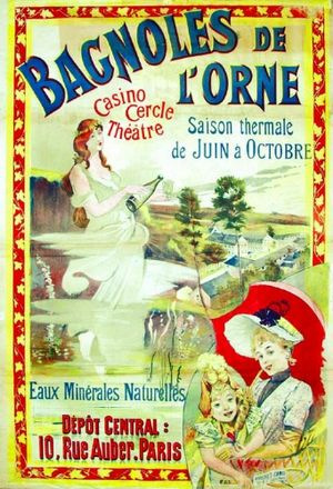 Advertising poster dating from the turn of the...