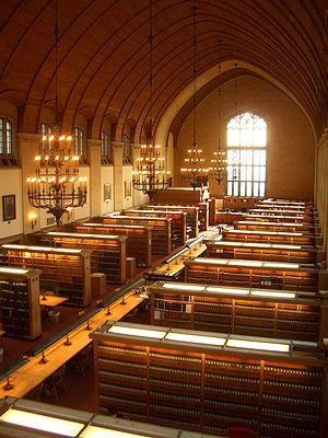 The Cornell Law School Library Reading Room Ca...