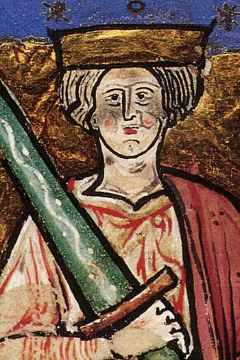 Ethelred the Unready, circa 968-1016. Detail o...