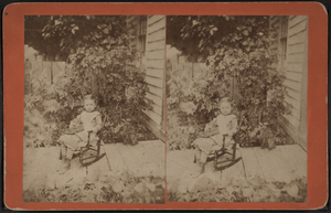 Girl and the Rocking Chair, by Young, C. P. (C...