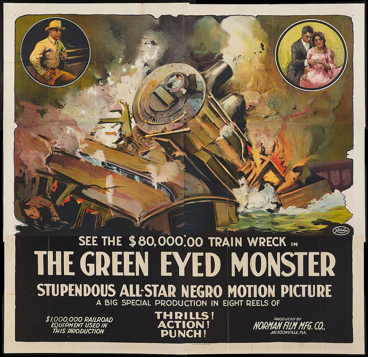 The Green Eyed Monster 1919 film  Wikipedia