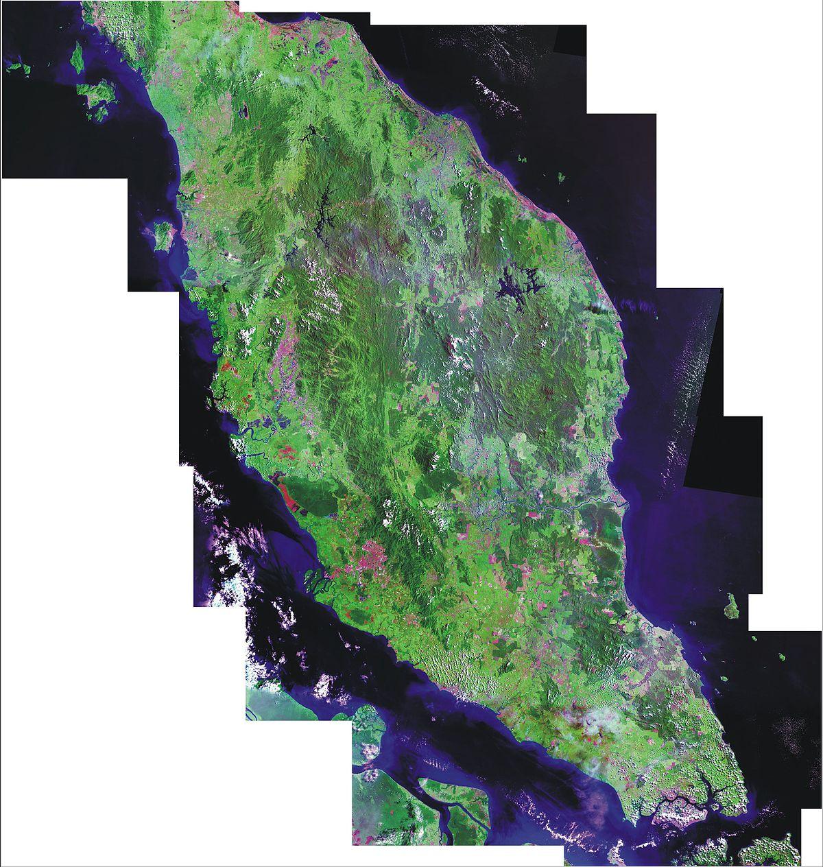 馬來西亞半島地區 - 維基百科,自由的百科全書
