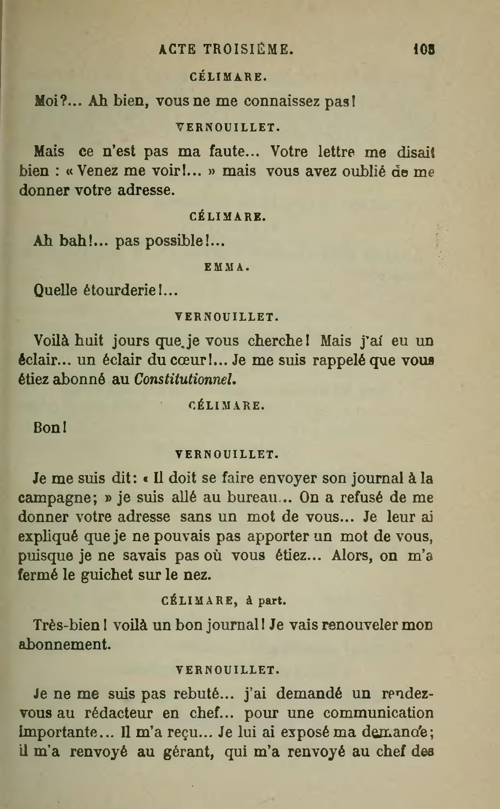 Vous Ne Me Connaissez Pas : connaissez, Page:Labiche, Théâtre, Complet,, Calman-Lévy,, 1898,, Volume, 03.djvu/113, Wikisource