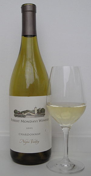 English: A 2005 Napa Valley Chardonnay from Ro...