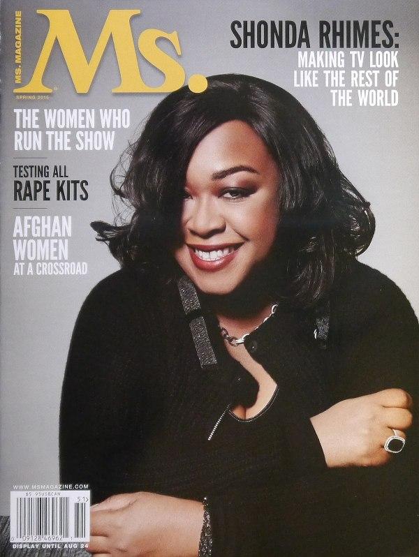 Shonda Rhimes Magazine Cover