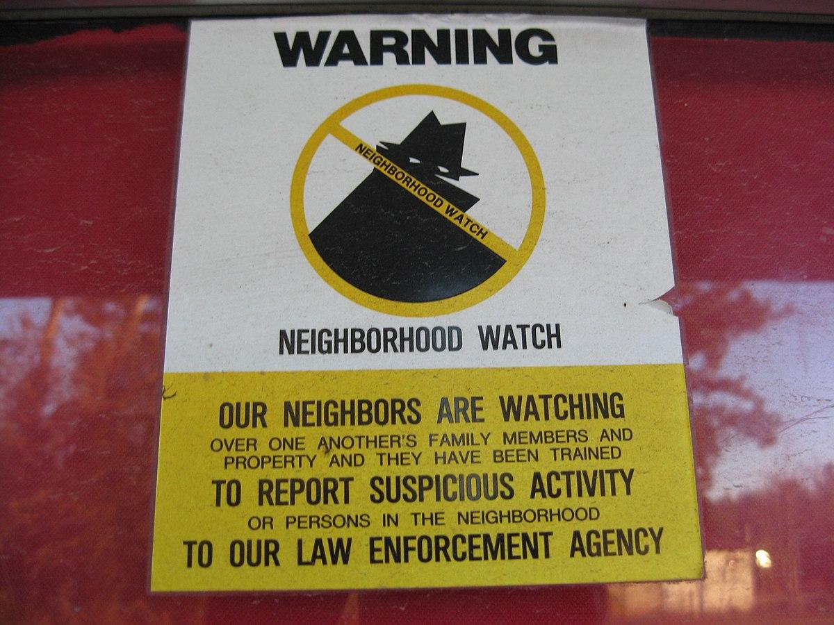 Crime Prevention Worksheet