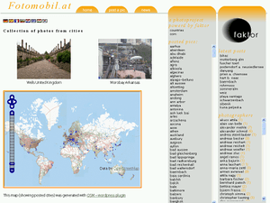 Screenshot of the WordPress Plugin OSM