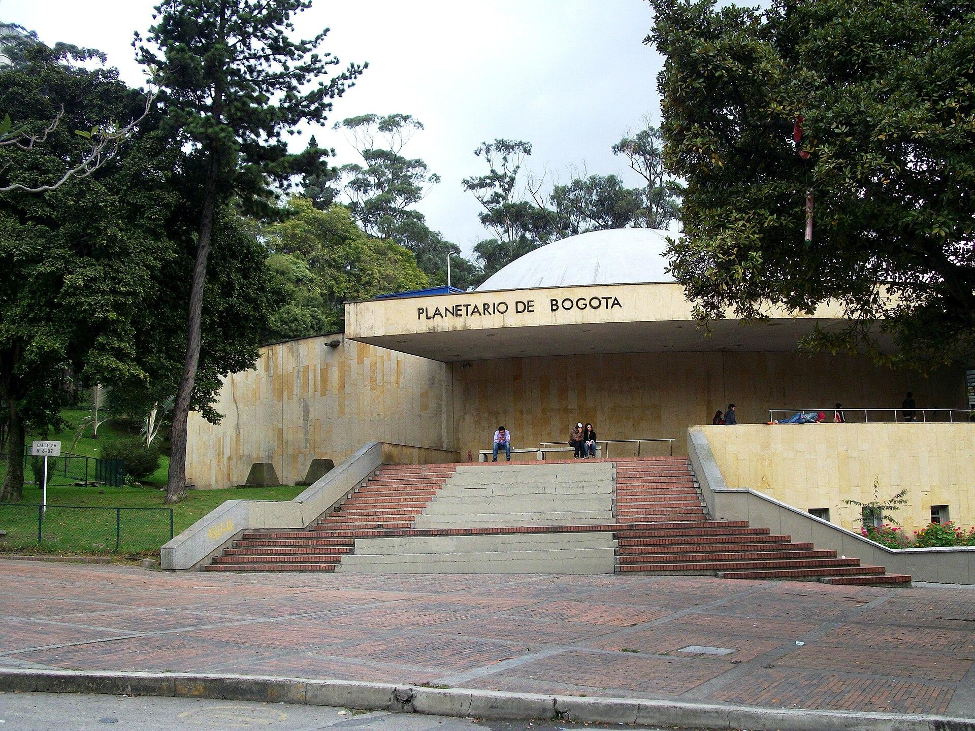 Planetario de Bogot  Wikipedia la enciclopedia libre