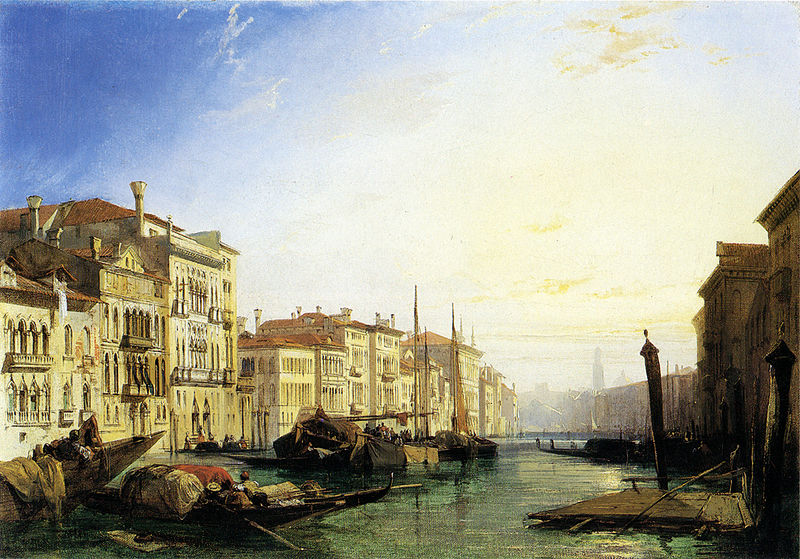 File:Richard Parkes Bonington Venice Grand Canal.jpg