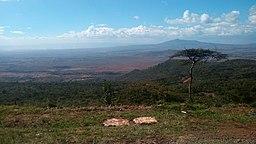 Panorámica del Valle del Rift desde Kenya