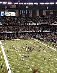 The louisiana superdome during saints  win over philadelphia eagles october also new orleans season wikipedia rh enpedia