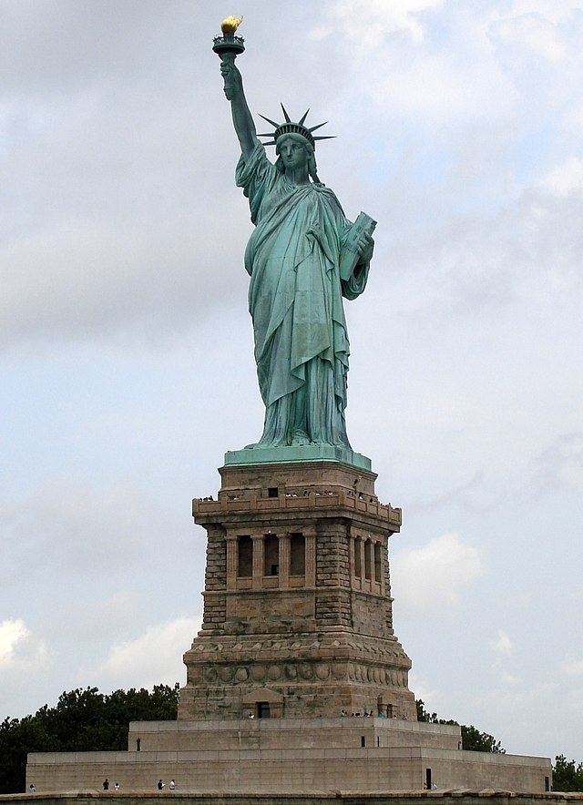 http://en.wikipedia.org/wiki/Statue_of_Liberty#mediaviewer/File:Statue_of_Liberty_7.jpg[/embed