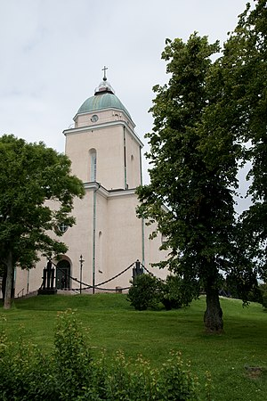 Suomenlinna Church.