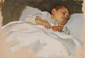 Study of a Sleeping Child