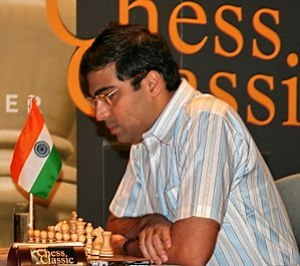Viswanathan Anand of India, winner of the Worl...