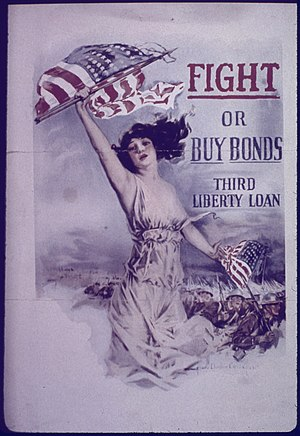 """Fight or Buy Bonds. Third Liberty Loan.&..."