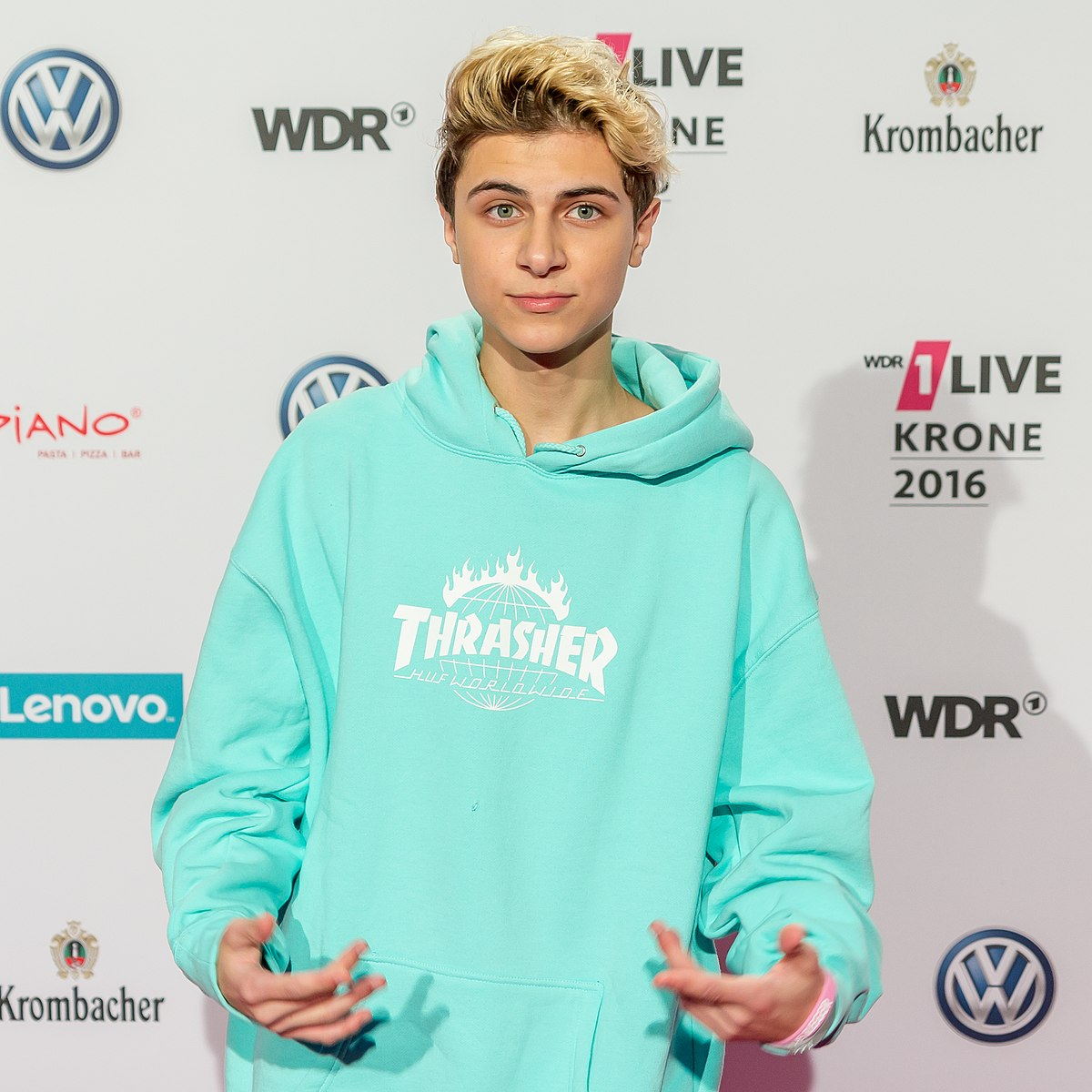 1 Live Krone 2015 Roter Teppich Lukas Rieger Wikipédia