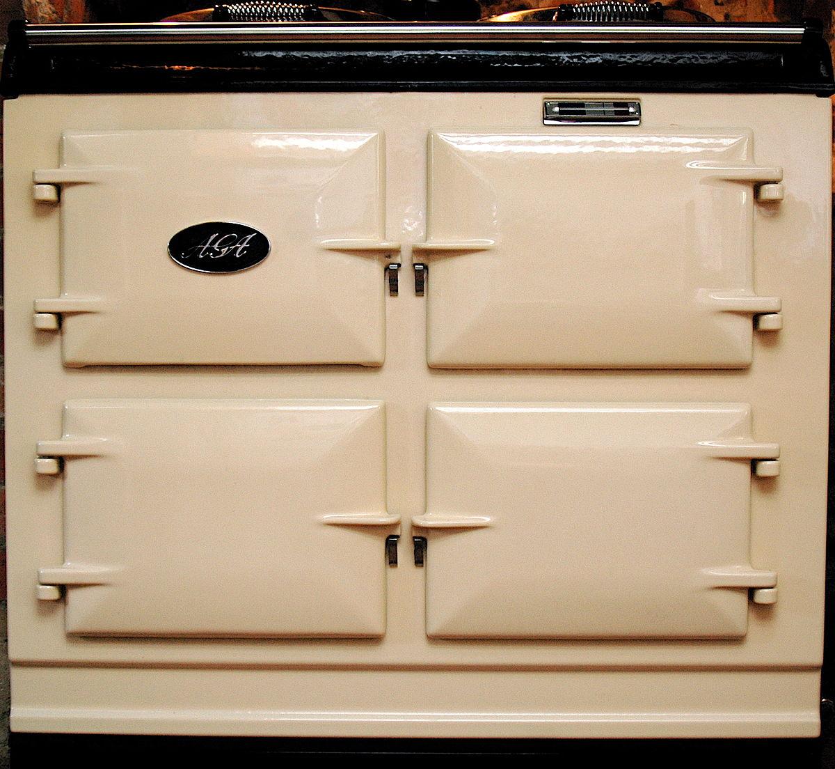 kitchen ovens modern cabinets aga cooker wikipedia