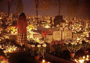 All Saints Day, 1st November 1984 in the Beski...