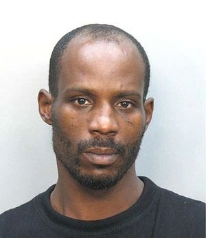 Mug shot of DMX.