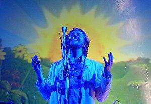 Wayne Coyne of The Flaming Lips, performing In...
