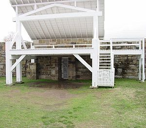 Gallows at Ft Smith Historical site