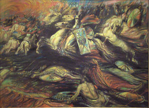 English: Ride of the Valkyries (ca. 1890) by H...