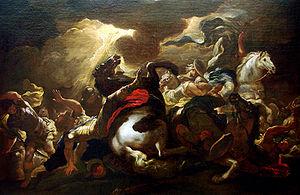 La conversion de Saint Paul (vers 1690), par L...