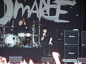 United States rock band My Chemical Romance pe...