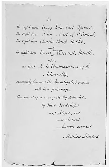 The Life of Captain Matthew Flinders RNChapter 27  Wikisource the free online library