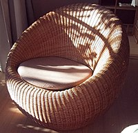 swing chair dragon mart sure fit slipcovers rattan wikipedia a