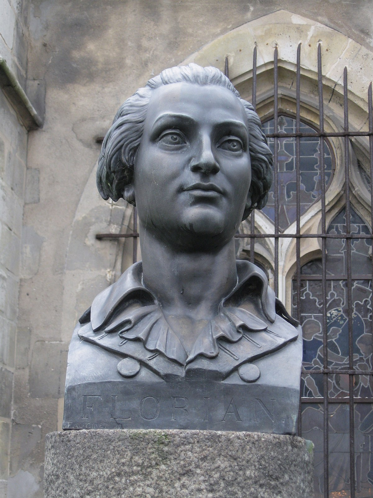 Jean-pierre Claris De Florian : jean-pierre, claris, florian, File:Sceaux, Félibres, Jean-Pierre, Claris, Florian, 1.jpg, Wikimedia, Commons