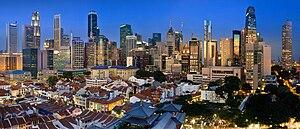 The Singapore Skyline v3