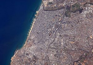English: Tel Aviv, Israel's largest metropolit...