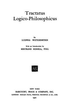 Tractatus Logico Philosophicus — Wikipédia