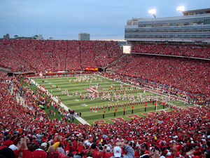 English: Memorial Stadium in Lincoln, Nebraska...