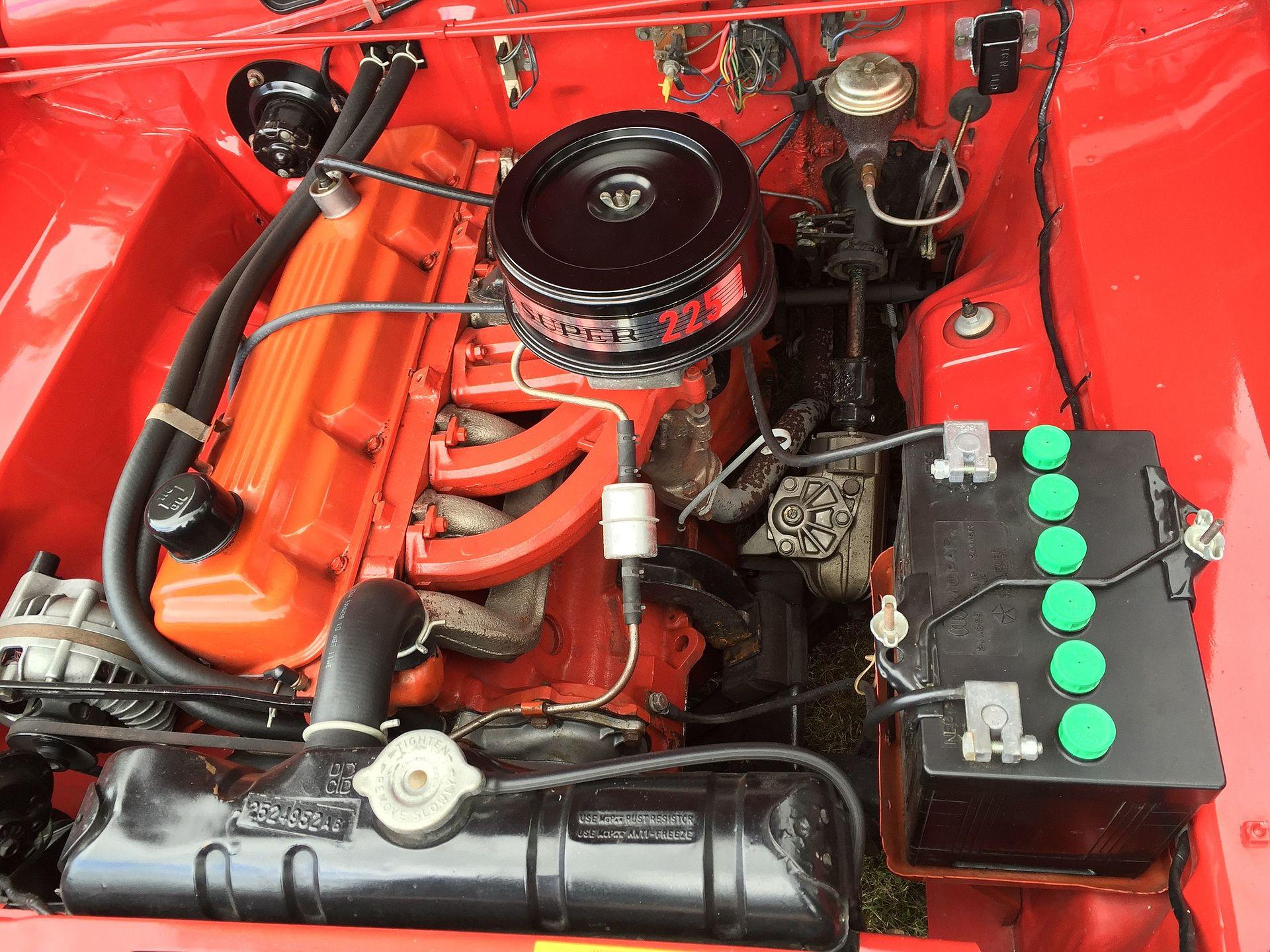 1968 Barracuda Wiring Diagram Chrysler Slant 6 Engine Wikipedia