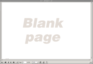 screenshot of an intentionally blank page on p...