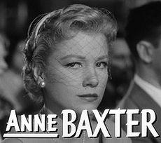 Anne Baxter Photo Gallery