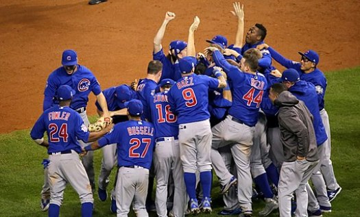 Chicago Cubs championship celebration