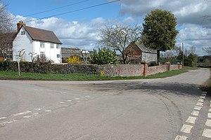 English: Cobhall Farm, Allensmore. Cobhall Far...