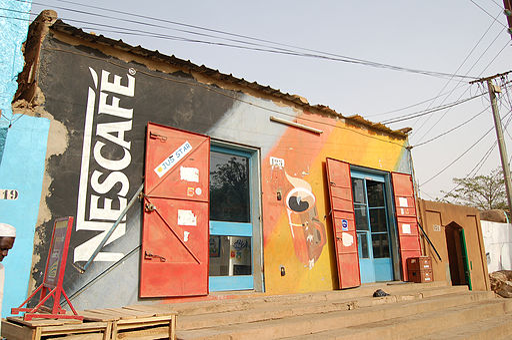 Coffee bar in Niger