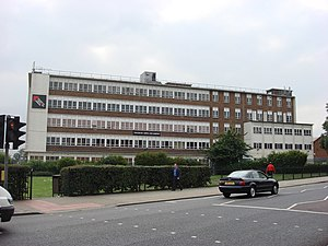 English: College of North West London