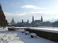 Winter time in Dresden.