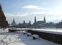 Winter time in Dresden.