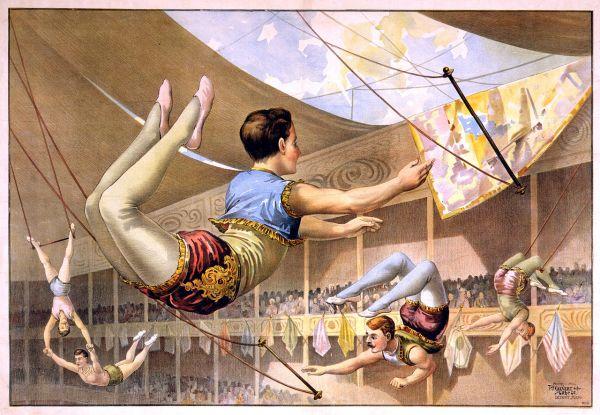 Male Trapeze Artist