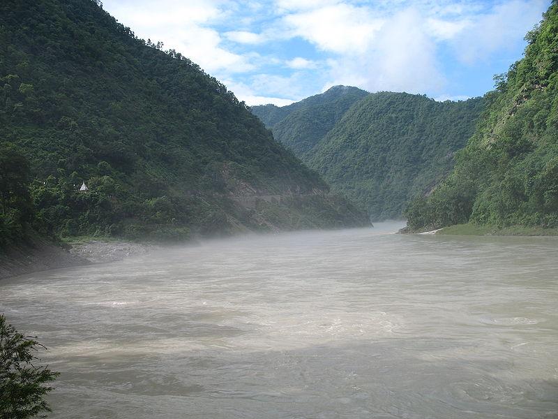 Ganges - rzeka na Półwyspie Indyjskim
