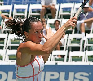 Jelena Jankovic at the 2007 Acura Classic.